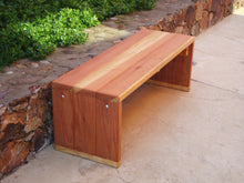 Load image into Gallery viewer, Mendocino Outdoor Redwood Bench