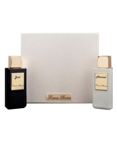 Franck Boclet JUST MARRIED COFFRET extrait de parfum x 2