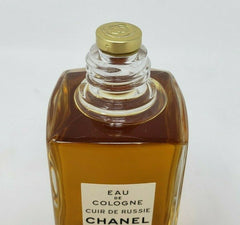 Chanel CUIR DE RUSSIE RUSSIAN LEATHER vintage eau de cologne