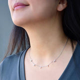 Good Work(s) Make A Difference - Stainless Steel FAITH Necklace