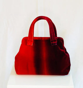Marian Paquette Alex Red Ombre French Velvet