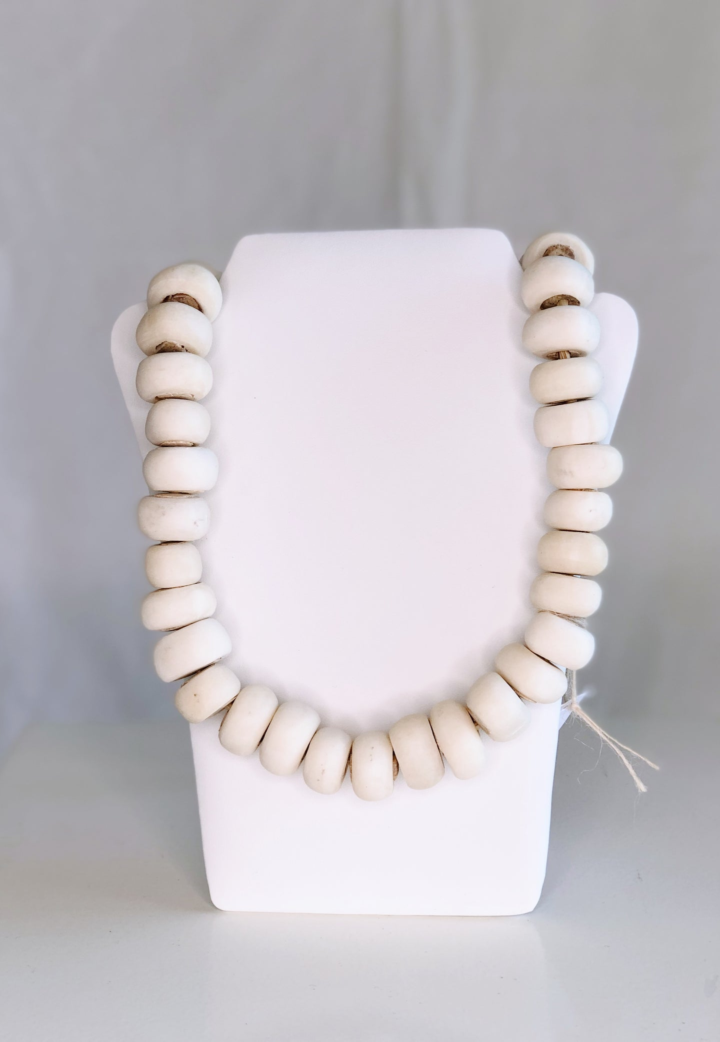 Bead Resource African White Bone Beads