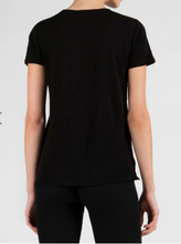 Load image into Gallery viewer, ATM Schoolboy V Neck Black