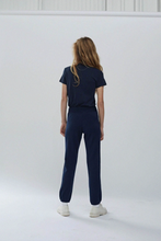Load image into Gallery viewer, Stateside Fleece Relaxed Sweat Pant Navy