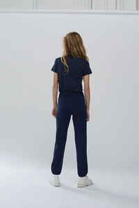 Stateside Fleece Relaxed Sweat Pant New Navy