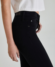 Load image into Gallery viewer, AG Farrah Skinny Black High-Rise