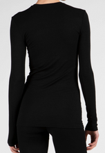 Load image into Gallery viewer, ATM Micro Modal Ribbed Crew Neck Long Sleeve