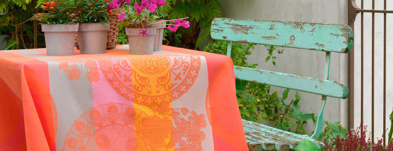 Le Jacquard Francais Coated Tablecloths