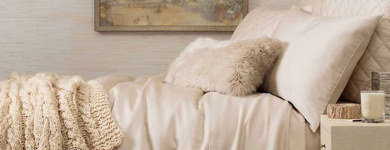 Pine Cone Hill Silken Solid Bedding Collection