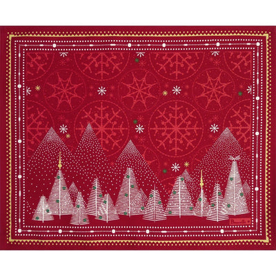 Beauville Megeve Red Placemat