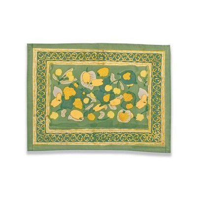 Couleur Nature Fruit Yellow Green Placemat