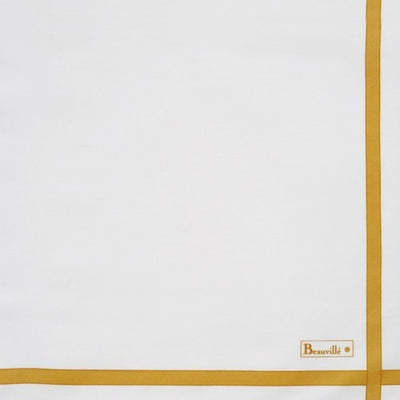 Beauville Two-coloured White/Yellow Napkin