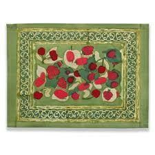 Couleur Nature Fruit Red Green Placemat