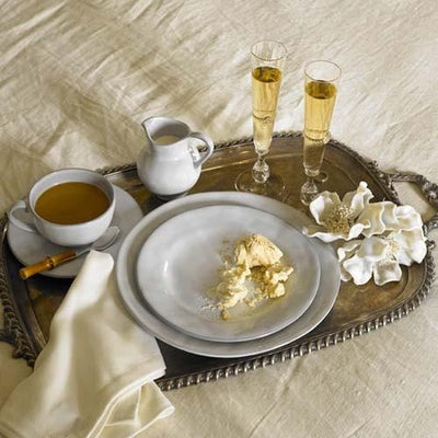 Juliska Quotidien White Truffle Medium Platter