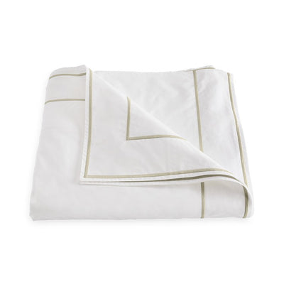 Matouk Ansonia Almond Duvet Cover