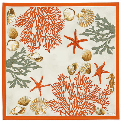 Beauville Coral Red Napkin