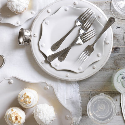 Juliska Berry & Thread White Dinner Plate