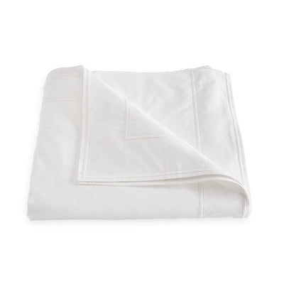 Matouk Ansonia White Duvet Cover