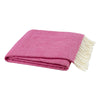 Lands Downunder Wild Orchid Italian Herringbone Throw