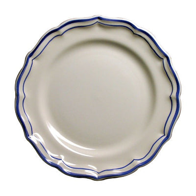 Gien Filets Bleus Dinner Plate