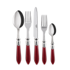Sabre Paris Baguette Red Flatware