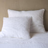 Bella Notte Linens Adele White Pillow Sham