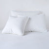 Bella Notte Linens Austin White Pillow Shams