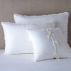 Bella Notte Linens Carmen White Pillow Sham