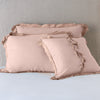 Bella Notte Linens Delphine Rouge Pillow Shams