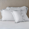 Bella Notte Linens Delphine Sterling Pillow Shams