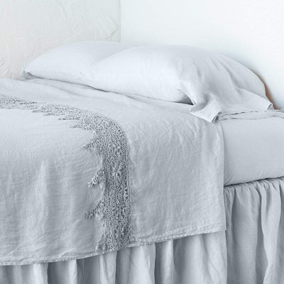 Bella Notte Linens Frida Cloud Flat Sheet