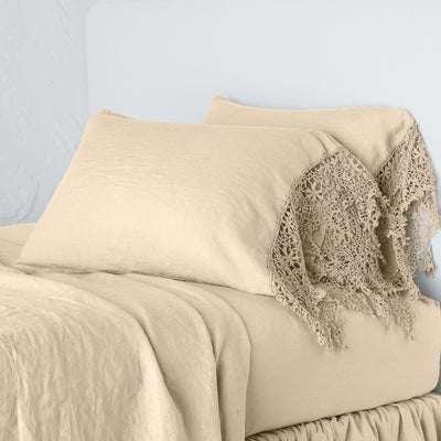 Bella Notte Linens Frida Honeycomb Pillowcase