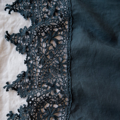 Bella Notte Linens Frida Midnight Flat Sheet
