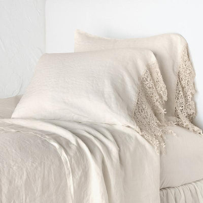 Bella Notte Linens Frida Parchment Pillowcase