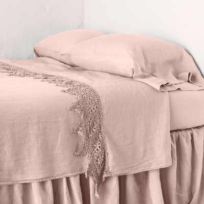 Bella Notte Linens Frida Rouge Flat Sheet