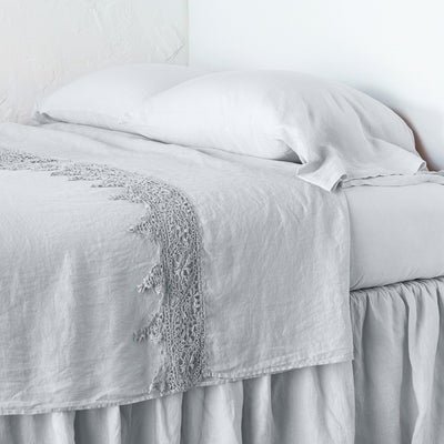 Bella Notte Linens Frida Sterling Flat Sheet