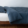 Bella Notte Linens Linen Midnight Duvet Cover
