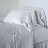 Bella Notte Linens Sterling Linen Fitted Sheet