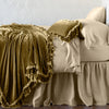 Bella Notte Linens Loulah Honeycomb Throw Blanket