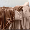 Bella Notte Linens Loulah Rouge Throw Blanket