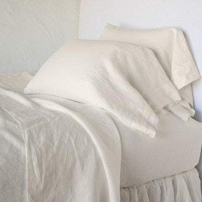 Bella Notte Linens Linen Fitted Sheet