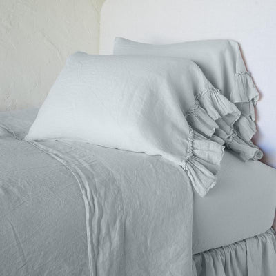 Bella Notte Linens Cloud Whisper Linen Pillowcase