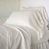 Bella Notte Linens Parchment Whisper Linen Pillowcase