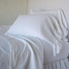 Bella Notte Linens White Whisper Linen Pillowcase