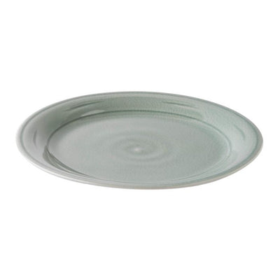 Simon Pearce Belmont Crackle Celadon Dinner Plate