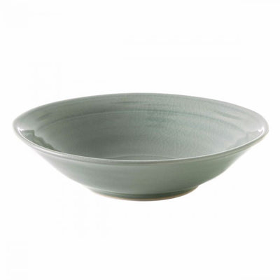 Simon Pearce Belmont Crackle Celadon Pasta Bowl