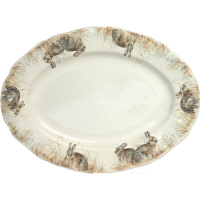 Gien Sologne Medium Oval Platter