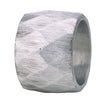 Bodrum Linens Harlequin Silver Napkin Ring