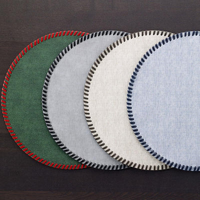 Bodrum Linens Whipstitch Placemats