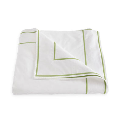 Matouk Ansonia Leaf Duvet Cover